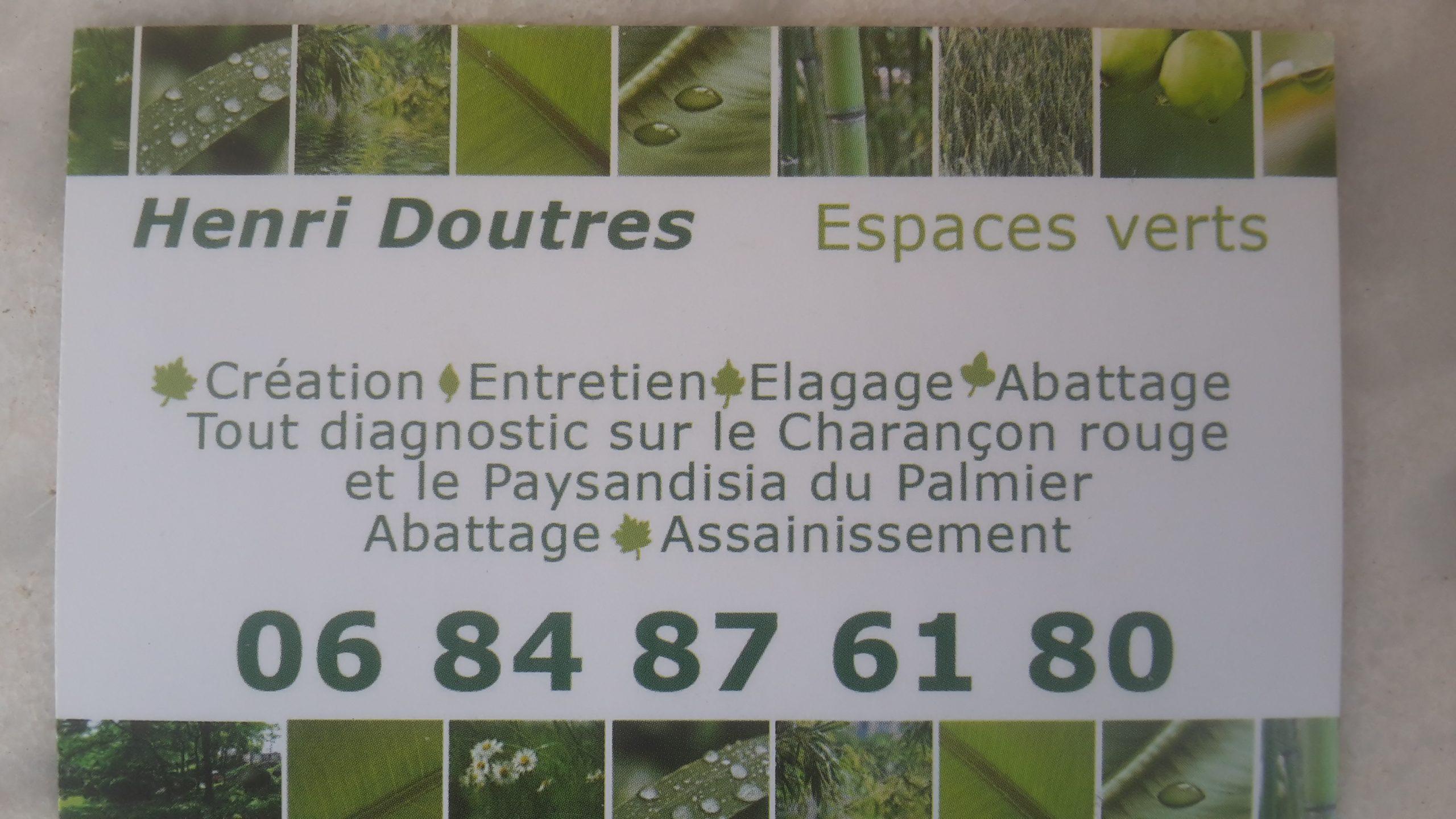 Henri Doutres Epaces Verts